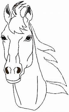Malvorlagen Pferdekopf Kostenlos Pferdekopf Malvorlage Kostenlos