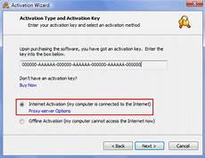 Automatic Online Activation
