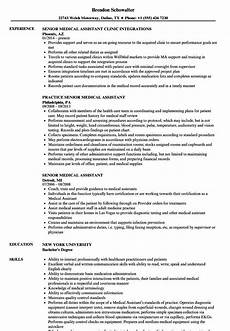Acquired Skills Resume Medical Assistant Skills For Resume Cool And Elegant