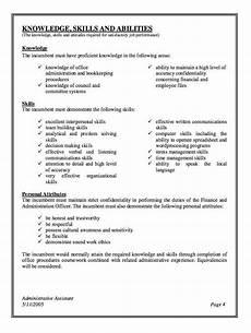 Admin Assistant Job Description Sample Administrative Assistant Job Description Modern Administ
