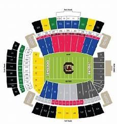 South Carolina Gamecock Football Stadium Seating Chart S Carolina Gamecocks Tickets Packages Amp Williams Brice