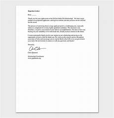 Thank You Letter For Application Rejection Thank You Letter Format Amp Sample Letters