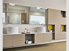 Sophisticated Bathroom Storage Units   InteriorZine