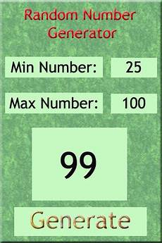 Random Number Generator Chart Random Number Generator For Ios Free Download And