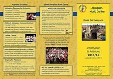 Examples Of Leaflets Leaflet Printers Abingdon Rainbow Colour