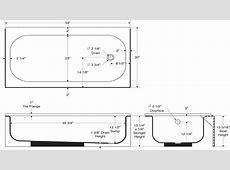 Standard bath tub, standard tub dimensions size tub dimensions. Interior designs Suncityvillas.com