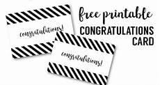 Congratulations Printable Card Free Printable Congratulations Card Paper Trail Design