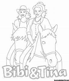 ausmalbilder bibi und blocksberg tina 1ausmalbilder