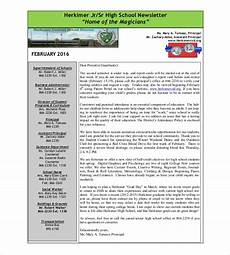 Newsletter Examples For Schools 14 School Newsletter Templates Free Sample Example