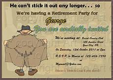 Template For Retirement Party Invitation Retirement Party Invitation 180 Digital You Print By Arttoart