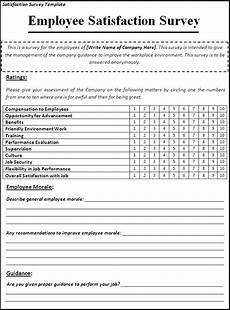 Surveys Example 23 Survey Examples In Word Examples