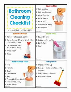 Chore List For Kids Editable Cleaning Chore Cards For Kids Happy Brown House
