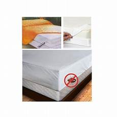 size mattress cover zipper waterproof plastic bed bug