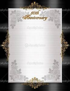 50th Anniversary Template 50th Wedding Anniversary Printable Invitation