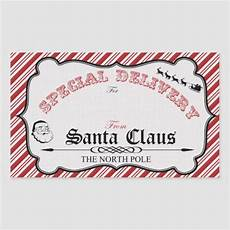 Santa Tag From Santa Gift Tag Stickers Zazzle