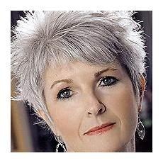 kurzhaarfrisuren feines graues haar graue haare friseur