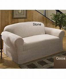 shop microfiber suede sofa slipcover free shipping today