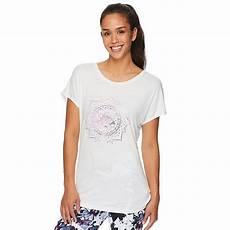 Gaiam Size Chart Women S Gaiam Intention Graphic Print Yoga Tee