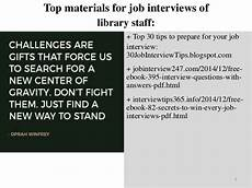 Library Interview Questions And Answers Top 25 Library Staff Interview Questions And Answers Pdf