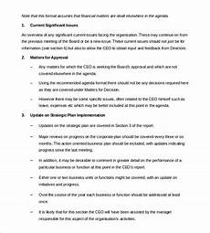 Board Report Format 55 Report Templates Free Word Pdf Apple Pages Google