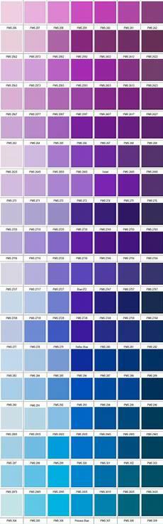 Periwinkle Blue Color Chart Pantone Violet Blue вдохновение от цвета фиолетовые