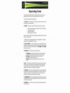 Report Writing Format Download Report Writing Format 3 Free Templates In Pdf Word