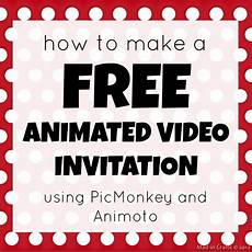 Create A Invitation Card Online Free How To Make A Free Animated Video Invitation Mad In Crafts