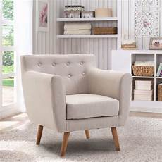 living room accent chairs with arms giantex living room arm chair tufted back fabric