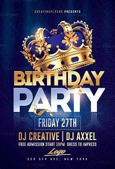 Flyer Partys Birthday Party Flyer Psd Templates Creative Flyers