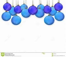 Blue Holiday Border Christmas Border Ornaments Blue Stock Image Image 7259301