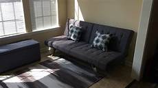 dhp emily futon sofa bed review cheap but is it any