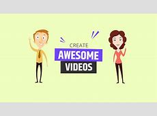 Animated Video Maker   with free music and sounds