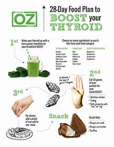 dr oz 28 day thyroid smoothie plan to boost low thyroid