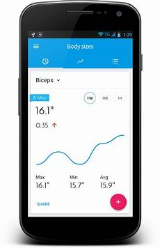 Body Measurement Chart App Body Measurement Tracker Android Apps On Google Play