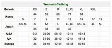 Japanese Clothing Size Chart How To Convert Clothes In Asian Sizes To U S Sizes Quora