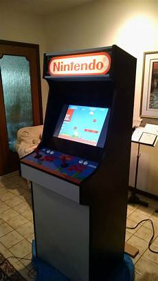 diy mario themed retropie arcade diy