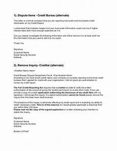 Credit Repair Letters Credit Bureau Credit Bureu Credit Repair Letters