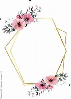 Free Printable Invitation 24 Free Printable Floral Watercolor Invitation Templates