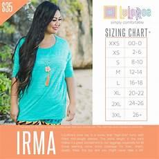 Sizing Chart For Lularoe Irma 33 Best Lularoe Size Charts Images On Pinterest Lularoe