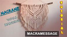 macrame wall hanging tutorial easy diy for macrame