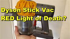 Dyson Stick Vacuum Red Light Dyson V6 Red Light Fix Dyson Battery Replacement