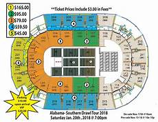 St Charles Family Arena Seating Chart With Seat Numbers Alabama