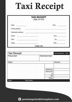 Sample Cab Receipt Taxi Receipt Templates Receipt Template Business Plan