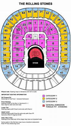 Forum Melbourne Seating Chart Rolling Stones 2014 Aus Tour Tickets Pre Sales And More