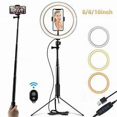 Ring Light Remote Multi Function Ring Light Selfie Stick And Wireless Remote