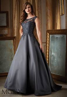 satin evening dress style 71431 morilee
