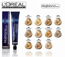 L Oreal Professional Colour Chart Loreal Majiblond Ultra Hi Lift Hair Color Chart