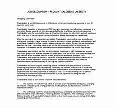 Advertising Executive Job Description 11 Account Executive Job Description Templates Free