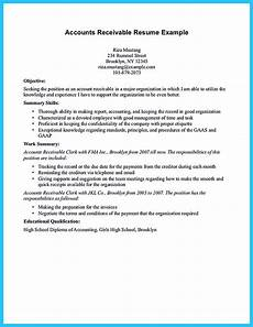 Accounts Receivable Resume Awesome Account Receivable Resume To Get Employer Impressed