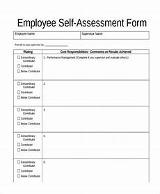 Employee Assessment Sample 47 Assessment Form Examples Free Amp Premium Templates